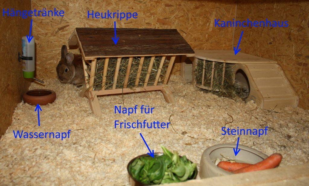 Futterzubehör für Kaninchen